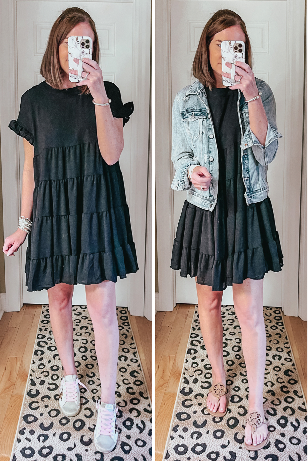 Amazon dresses, black ruffle tiered mini dress, Spring and Summer Dresses Under $35, wedding guest dress