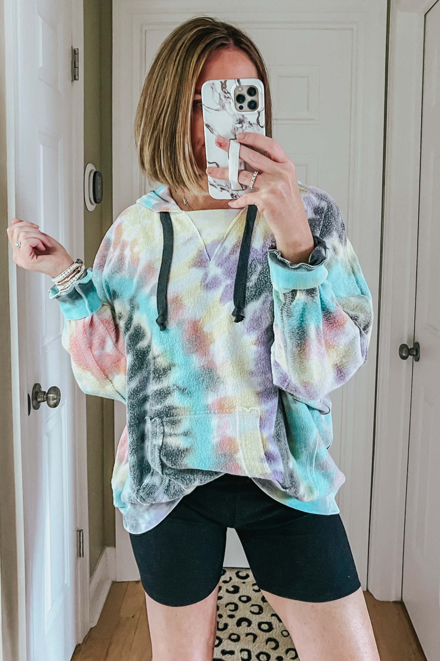 Six Red Dress Boutique Spring Favorites, inside out tie dye hoodie