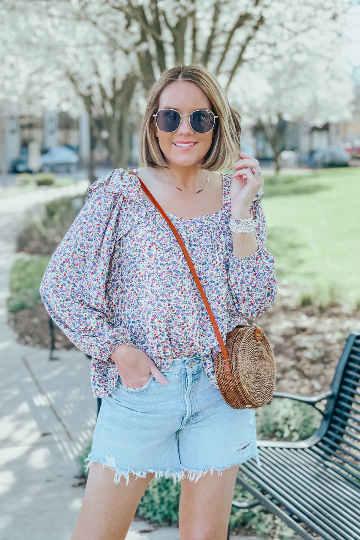 easy spring outfit, dressy casual spring outfit