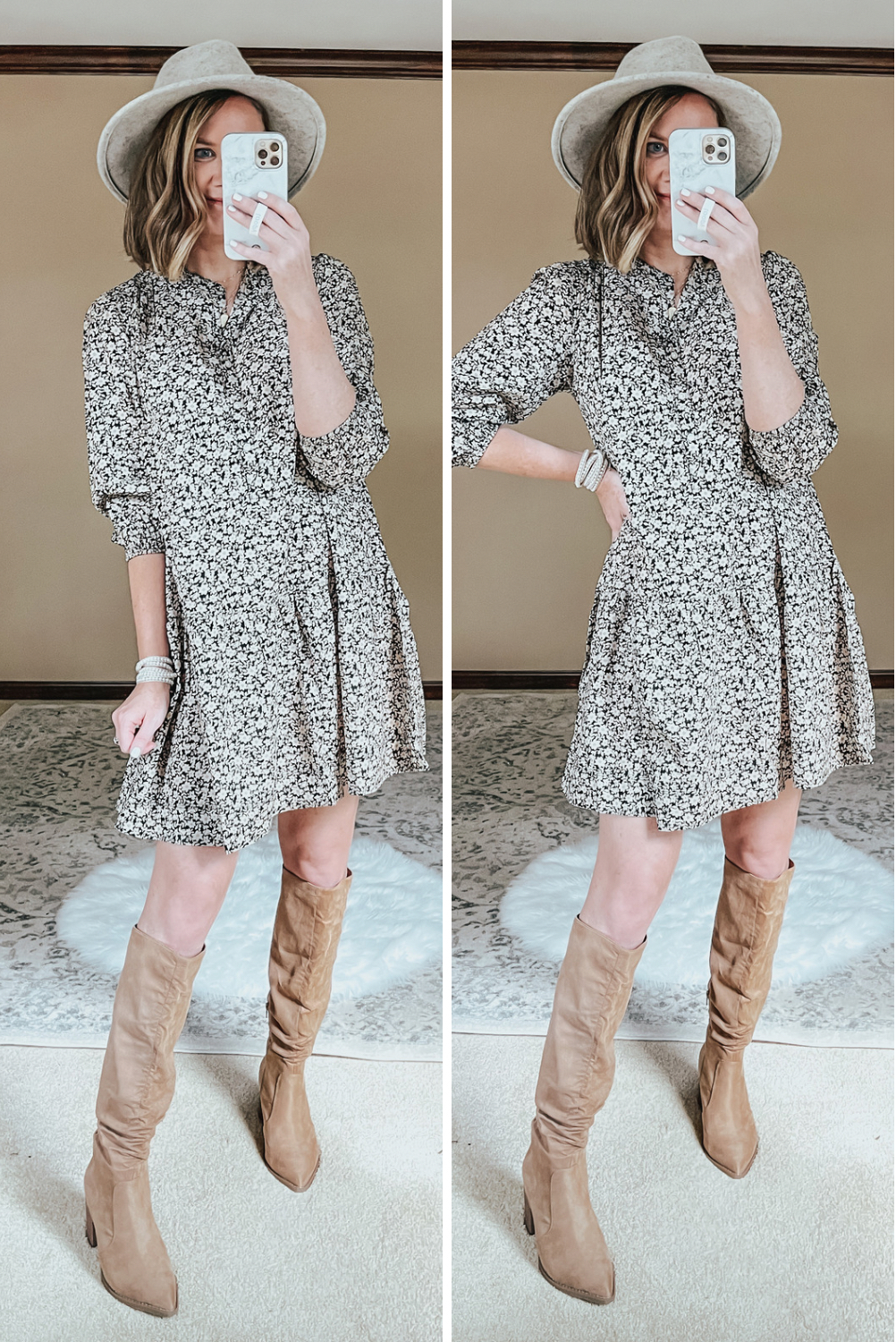 Walmart Fall Outfits Everything Under $30, fall floral dress