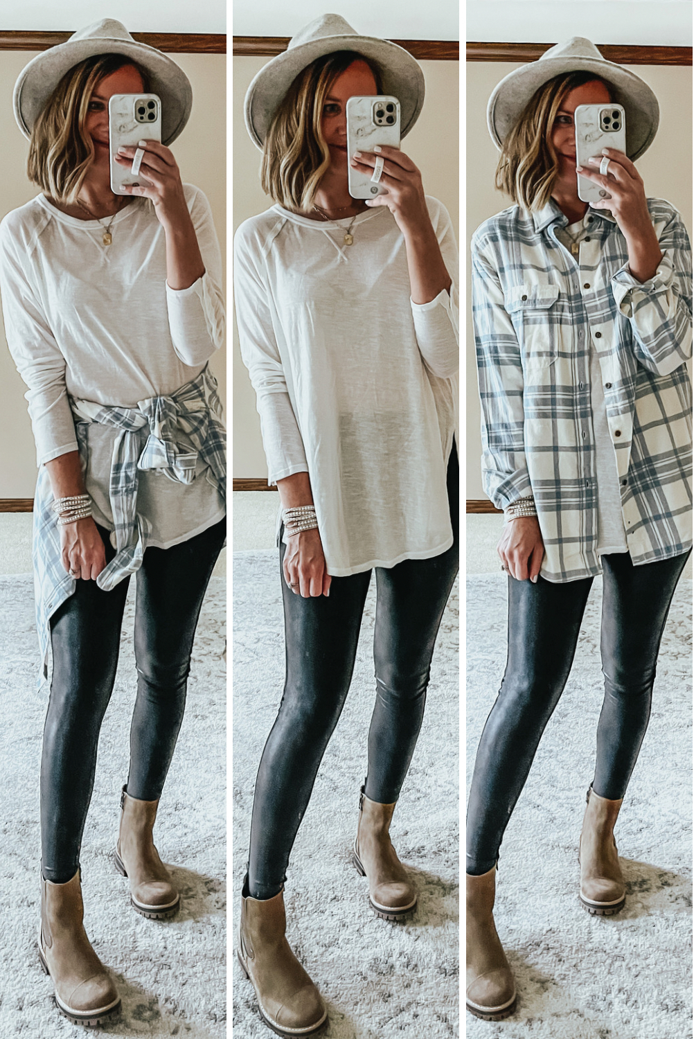 Walmart Fall Outfits Everything Under $30, Free People look for less, long sleeve tunic tee