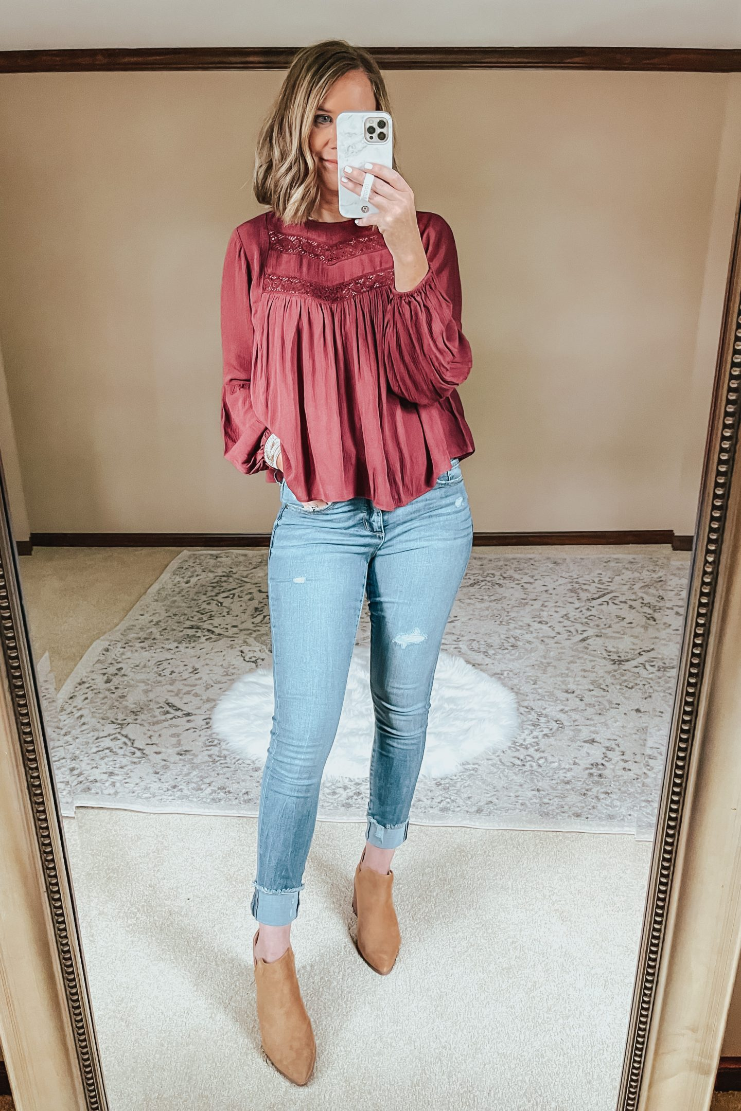 Walmart Fall Outfits Everything Under $30, Free People look for less, fall date night outfit