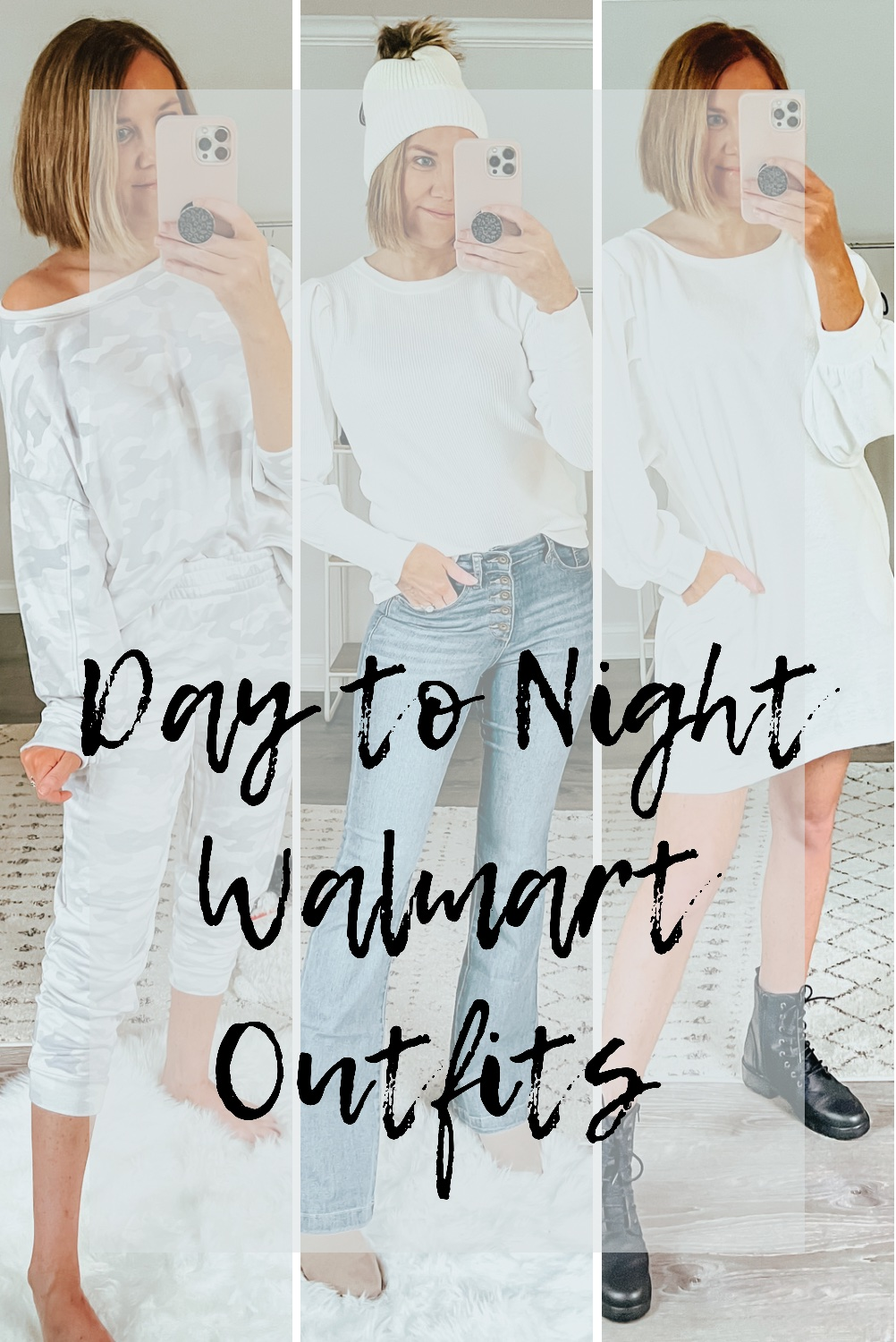 Three Casual to Dressy Looks with Walmart